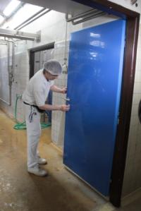 Voděodolné dveře - mytí